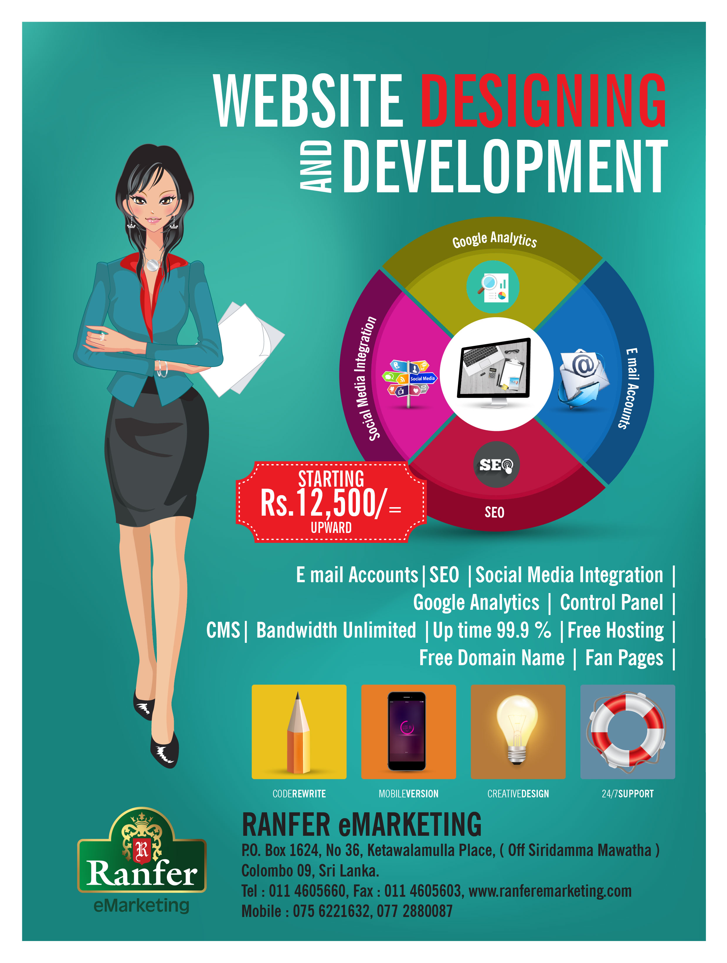 Web Development Ranfer e Marketing