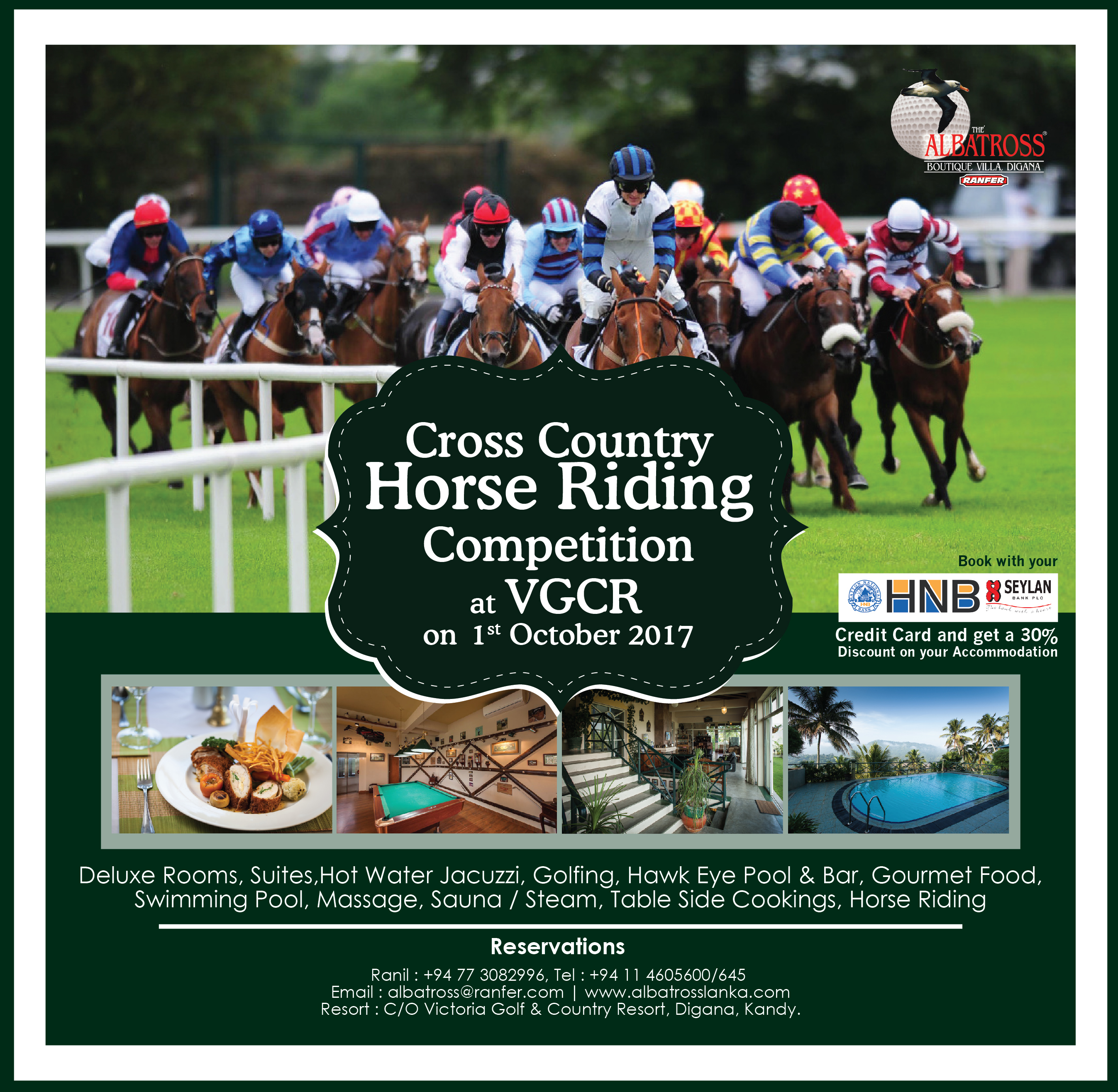Cross Country Horse Riding Competition